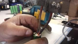 El yapimi pil punta makinasi