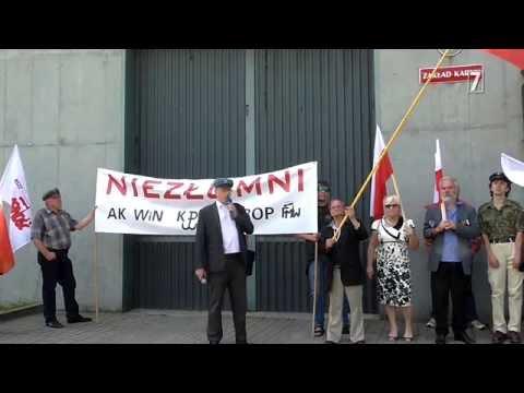 Adam Słomka szturmuje więzienie w Wojkowicach