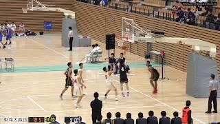 北陸vs東海大諏訪(Q4)高校バスケ 2019 北信越新人戦準決勝