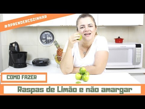 RASPAS DE LIMÃO E LARANJA SEM AMARGAR -  DICA
