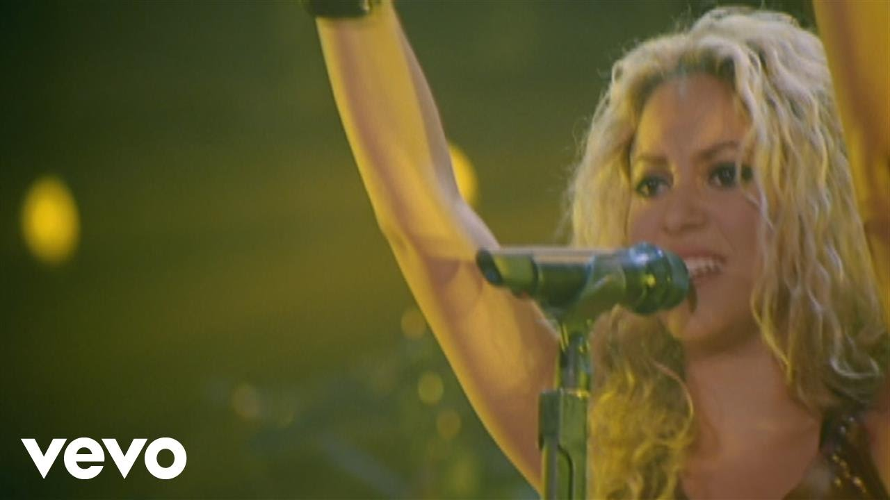 Shakira — Whenever, Wherever (from Live  / Off the Record)