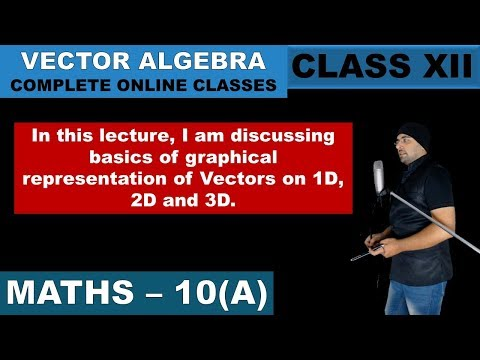 10(A)   Meaning and Basics of Vectors   Vector Algebra   Class 12   Mathematics   Chapter 10 thumbnail
