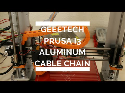 Geeetech Prusa i3 Aluminum Cable Chain