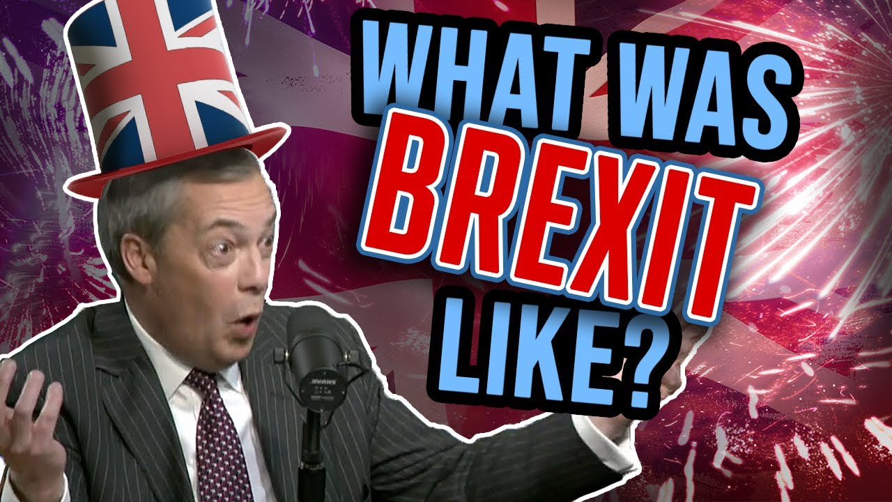 NIGEL FARAGE: The making of BREXIT
