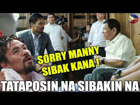 BREAKING NEWS MAY 13, 2021 PANG DUTERTE TUTULDOKAN NA PACQUIAO SISIBAKIN SA PDP LABAN ! -  (2020)
