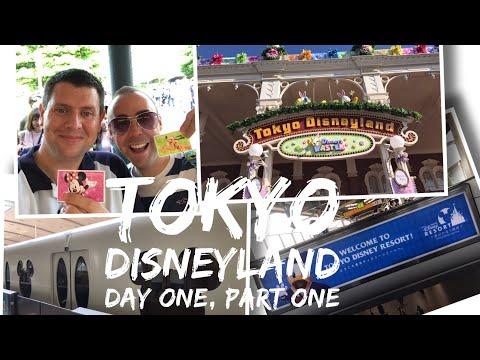 Tokyo Disneyland Vlog - May 2017 - Day 1 Part 1 - Tokyo Disneyland part 1