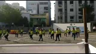 Aerobics cum Dance Performance : Sports Day at Euro Kids Waghodia Road