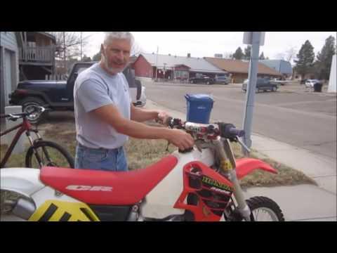 01 CR500 Honda barn find in Southeast Montana