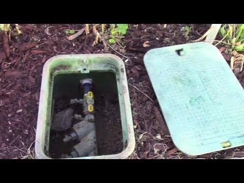 Starting Up Your Sprinkler System In The Spring De