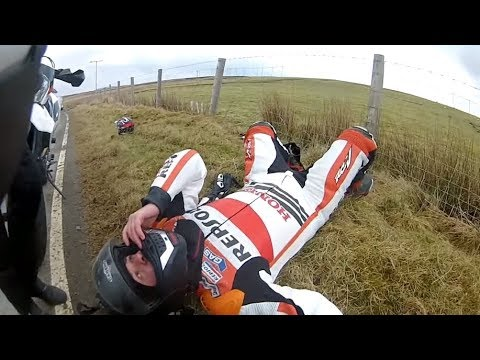 MOTORCYCLE CRASH COMPILATION 2019 / #RideSafe