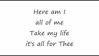 Take My Life - Passion (Chris Tomlin) 16x9 lyrics
