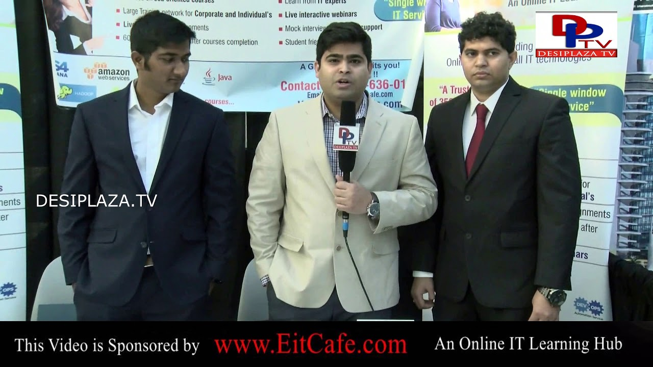 DesiplazaTV: Rahul of EITCAFE Speaking to Desiplaza TV at ITSERVE SYNERGY 2017