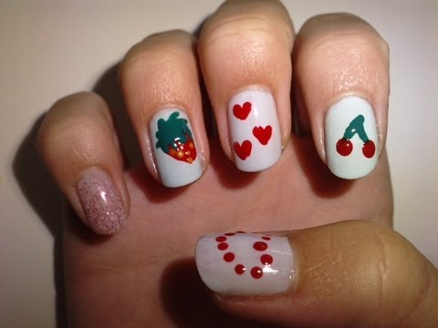nail art little girls