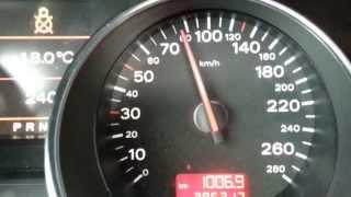 Audi A8 4.2L разгон до 2?0 км/ч )