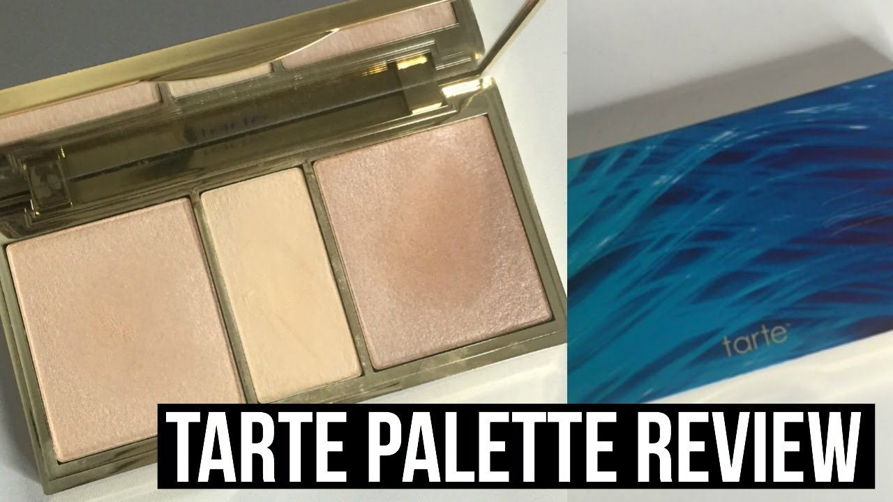 New Tarte Skin Twinkle Lighting Palette Review Swatches