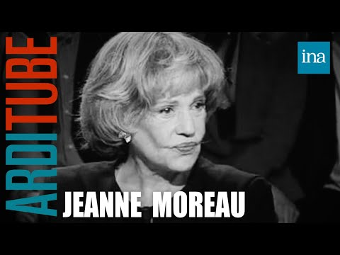 Jeanne Moreau chez Thierry Ardisson  Archive INA