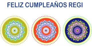 Regi   Indian Designs - Happy Birthday