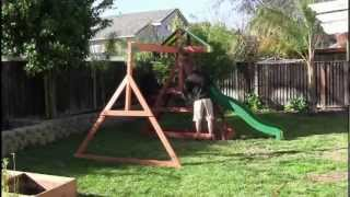 Aspen Swing Set Build Time Lapse