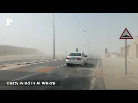 A Windy Day in Al Wakrah
