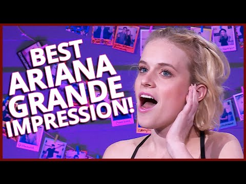 BEST ARIANA GRANDE IMPRESSION EVER!! + Selena Gomez & Britney Spears