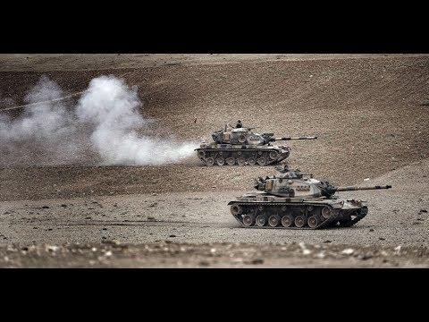News  Turkey prepares ground attack for Syria
