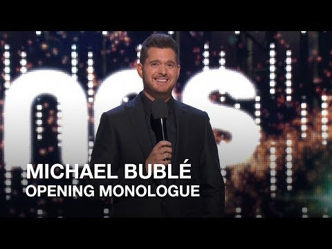 Michael Bublé   Opening Monologue   Juno Awards 2018