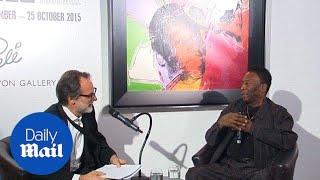 Pele: Warhol portrait, Eden Hazard and Brazil's poor world cup - Daily Mail
