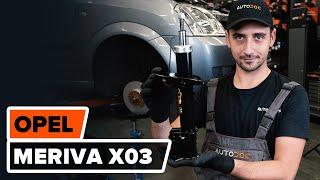 Uživatelský manuál Opel Meriva B online