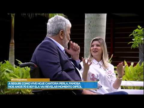 Wagner Montes relembra dia em que Perla adotou filha em seu programa