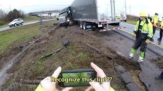 Download Jack-Knifed, Tangled, and Wedged Peterbilt Mp3 and Videos