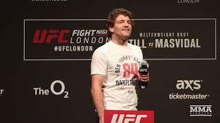 Darren Till Interrupts Ben Askren UFC London Fan Q&A With Double-Fingered Salute - MMA Fighting