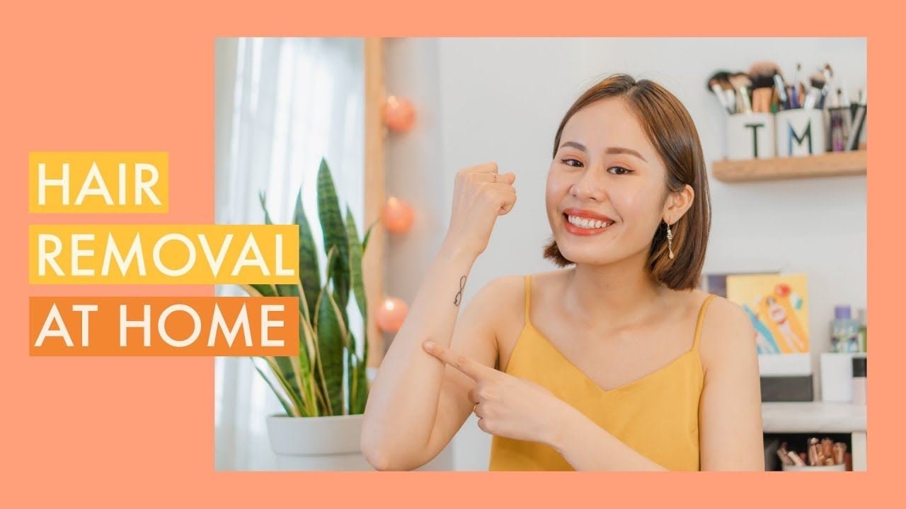 Tẩy Lông Tại Nhà Siêu Nhanh 💞 | Hair Removal At Home | Mailovesbeauty TV