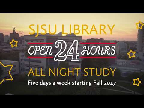King Library Open 24 Hours