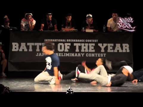 BATTLE OF THE YEAR 2013 JAPAN FINAL BATTLE【THE FLOORRIORZ vs Body Carnival】
