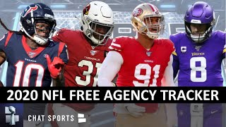NFL Free Agency Tracker: Latest Signings, Trades & Cuts From Day 1 Of 2020 NFL Free Agency
