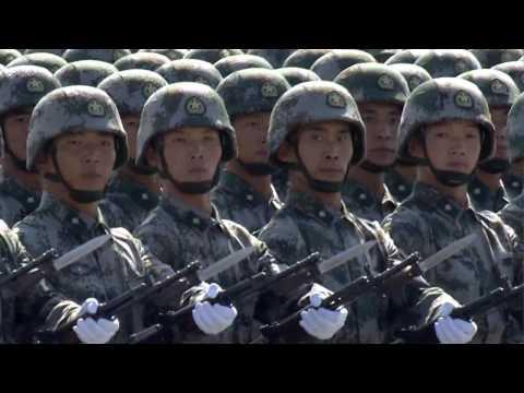 (1) China Military Parade -- PRC 60th Anniversary PLA Formations (HD)