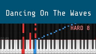 Dancing On The Waves - How to Play Piano Tutorial Instrumental Cover H видео