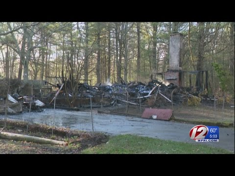 West Greenwich Home Destroyed in Fire