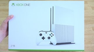 xbox one s slim unboxing
