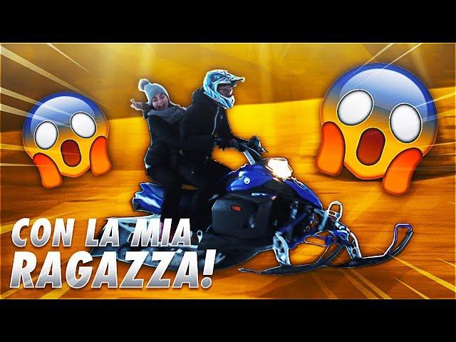 MOTOVLOG IN MOTOSLITTA CON LA MIA RAGAZZA !!