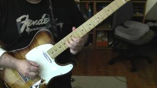 Little Bit of Sympathy Fender American Select Guitar Demo