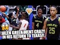 JALEN GREEN BROUGHT THE HOUSE DOWN IN TEXAS!! | Prolific Prep Has That CALI SHOWTIME Effect