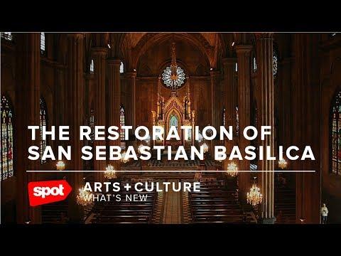 The Restoration of San Sebastian Basilica
