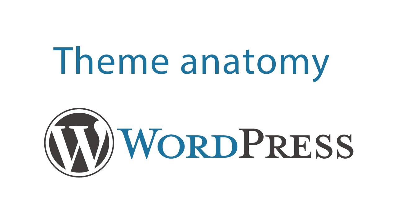 كورس وورد بريس 3 | wordpress theme anatomy - YouTube