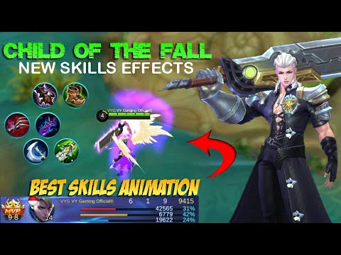 Alucard Child of the Fall Skin New Skills Effects Gameplay and Build - Mobile Legends Patch 2.08