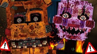 NEW TORMENTED STARLIGHT FREDDY AND PUPPET ATTACK! | Minecraft FNAF (Five Nights at Freddys)