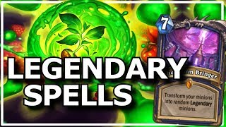 Hearthstone - Best of Legendary Spells