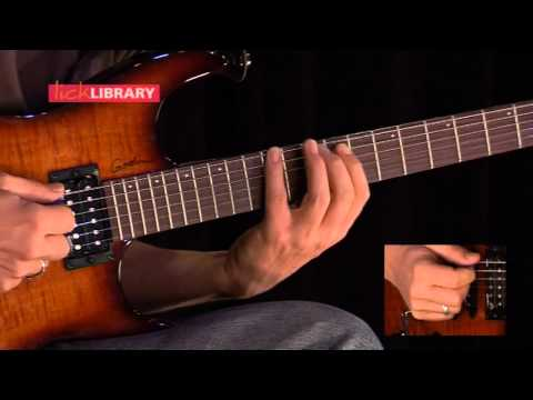 Pentatonic Concepts - Ultimate Guitar Techniques With Alex Machacek - Licklibrary