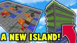 Starting Fresh on a NEW Skyblock Island! (VanityMc Skyblock)