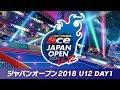 マリオテニス エース「ジャパンオープン2018 U12 DAY1」@次世代WHF'18 Summer